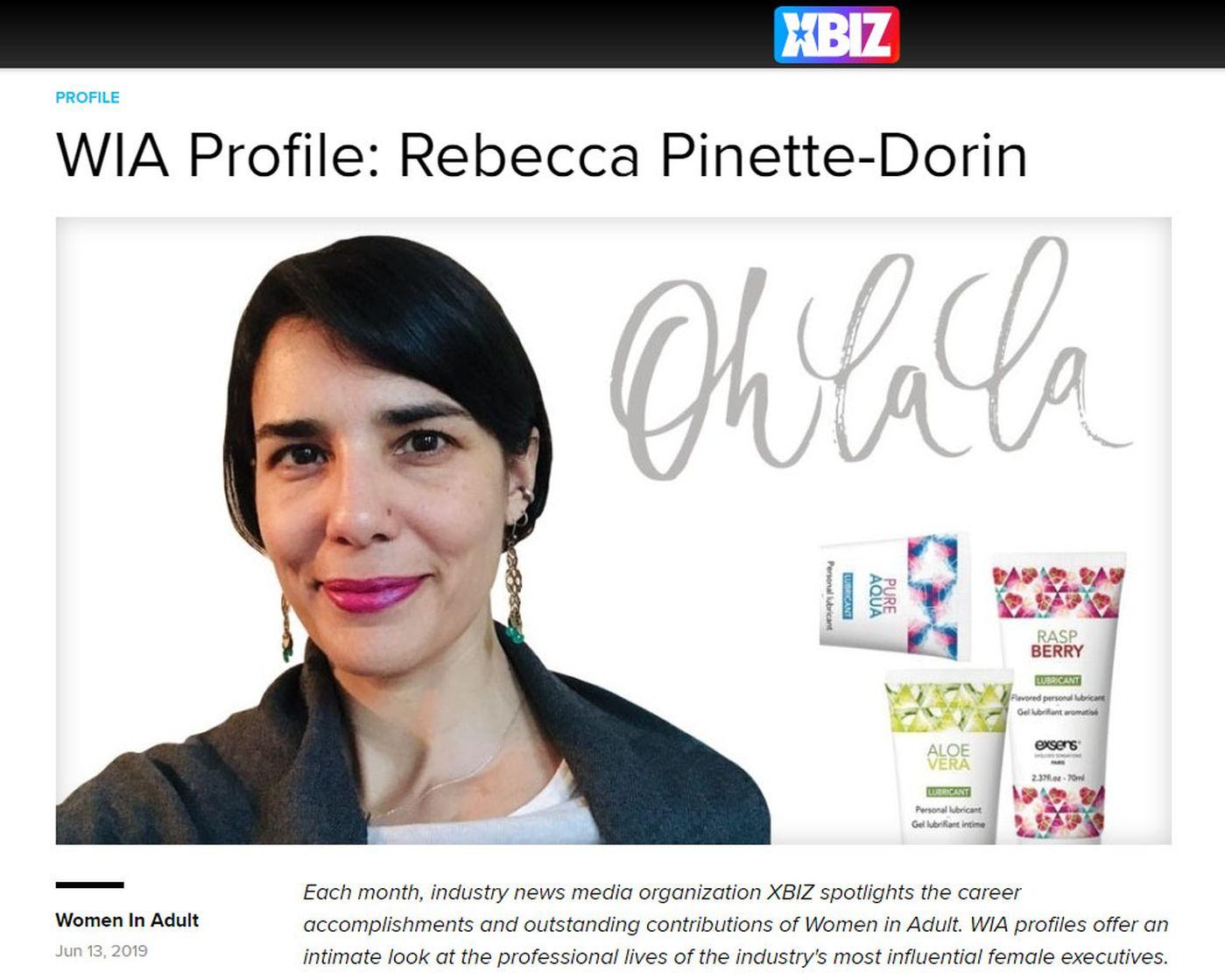 XBIZ Profile